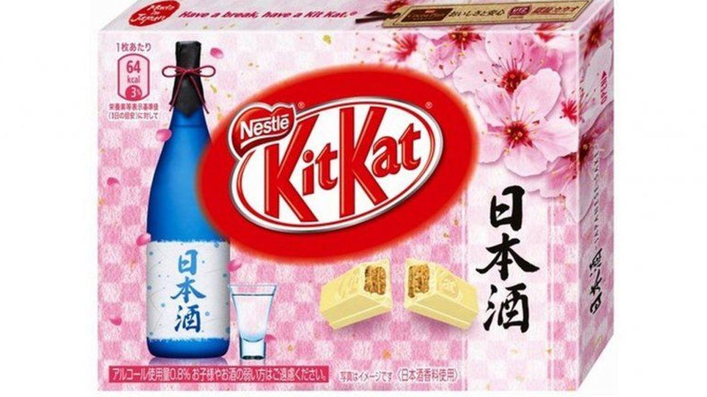 Nestlé pone a la venta un nuevo Kit Kat con alcohol en Japón
