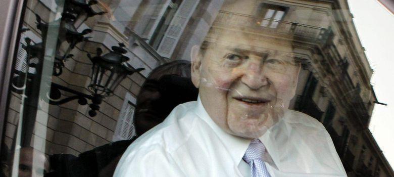 Foto: El magnate de los casinos, Sheldon Adelson.