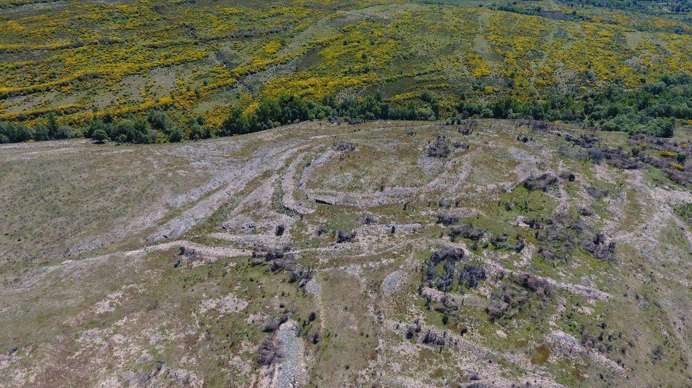Foto: Los restos de las minas leonesas (Imagen cedida)
