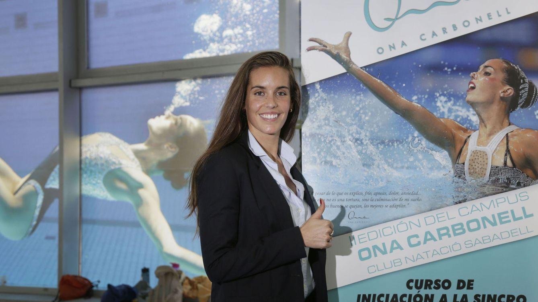 Foto: Ona Carbonell, en una presentación reciente (EFE)