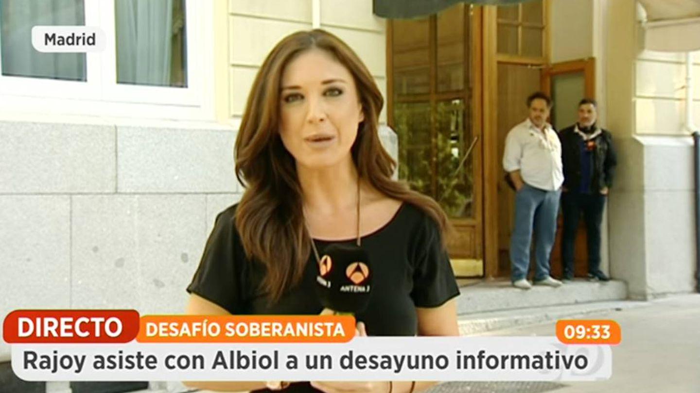 Desirée García Escribano, en un directo en 'Espejo Público'. (YouTube)