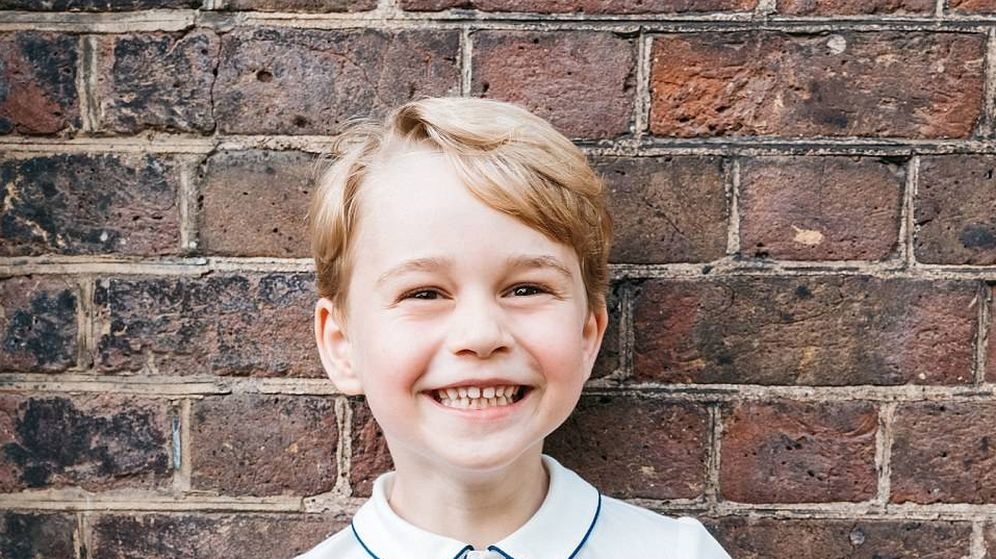 Foto: El príncipe George en su nuevo posado oficial (Kensington Palace)