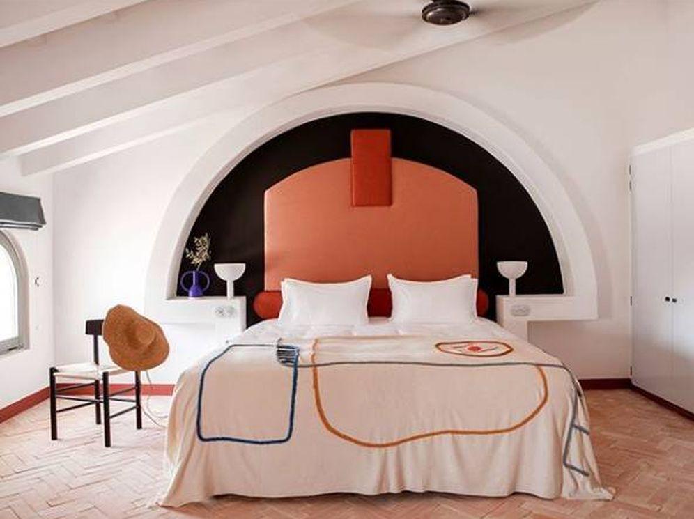 Foto: Así es el hotel Menorca Experimental, para locos del arte. (Cortesía)