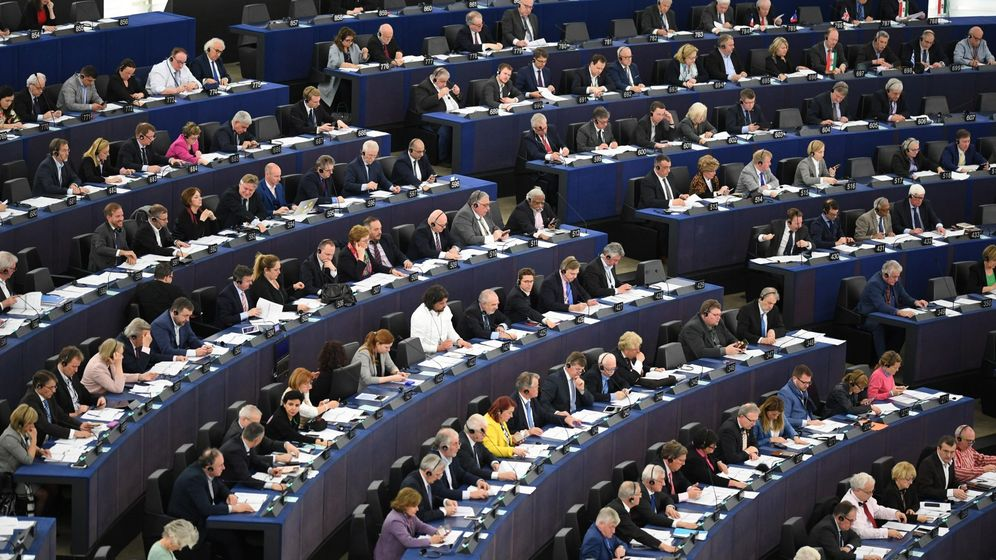 Foto: Eurodiputados en el Parlamento Europeo.(EFE)