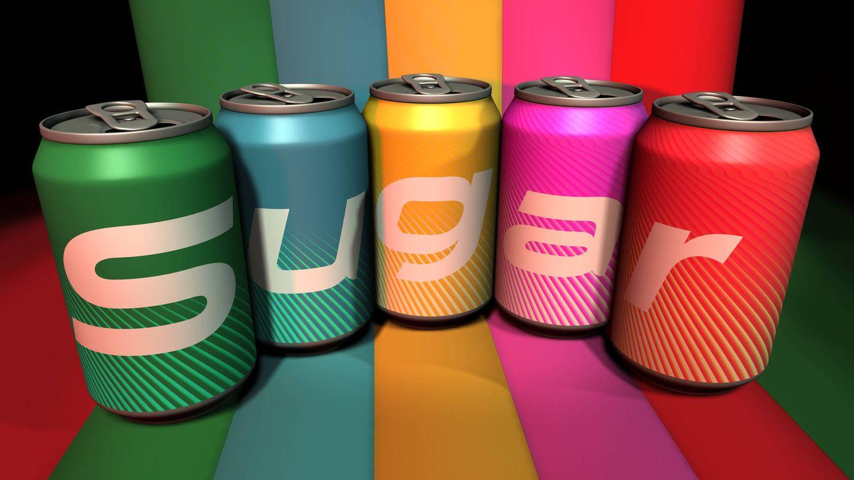 El azúcar añadido está muy presente en los refrescos (iStock)