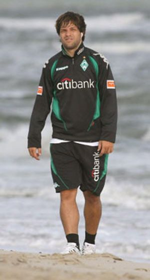 Diego se salta la prohibición del Bremen y se va a los Juegos