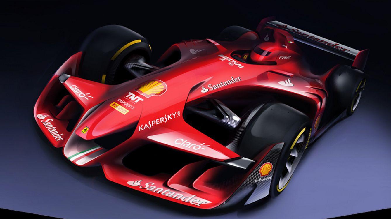 Foto: Así ve Ferrari el futuro de la F1: agresiva, innovadora y con la aprobación del público