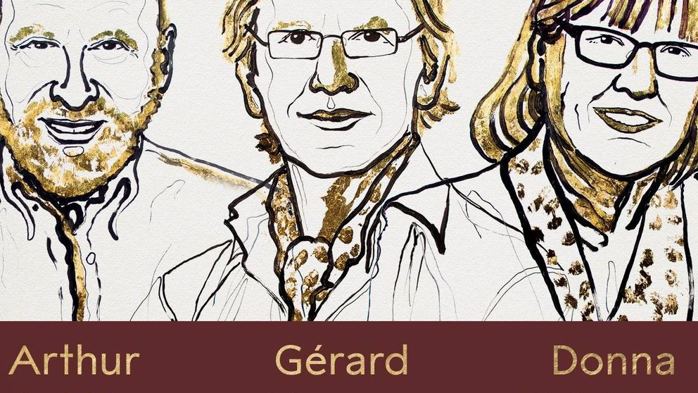 Nobel de Física 2018 para las revoluciones en el campo de la física del láser