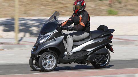 Por qué estas son las mejores motos para el mal tiempo: Piaggio MP3 350 y 500