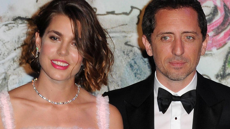 Carlota y Gad Elmaleh en una foto de archivo. (Getty)