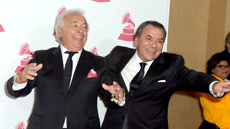 Antonio Romero y Rafael Ruiz, en una gala en Las Vegas. (Getty)