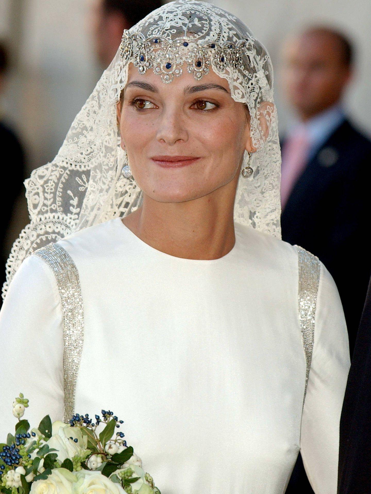 Laura Ponte, con la tiara. (Getty)
