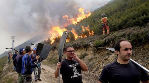 Asturias también: 32 incendios obligan a desalojar
