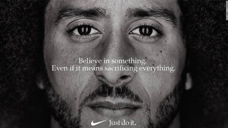 'Just Do It!', con Colin Kaepernick. (Nike)
