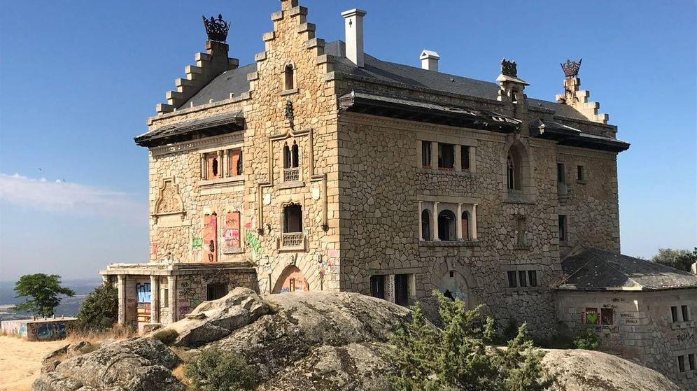 Foto: El Palacio del Canto del Pico, en Torrelodones (Madrid). (José Martín)