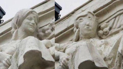 Palencia ya tiene su propio 'Ecce Homo' y los vecinos no se creen la chapuza