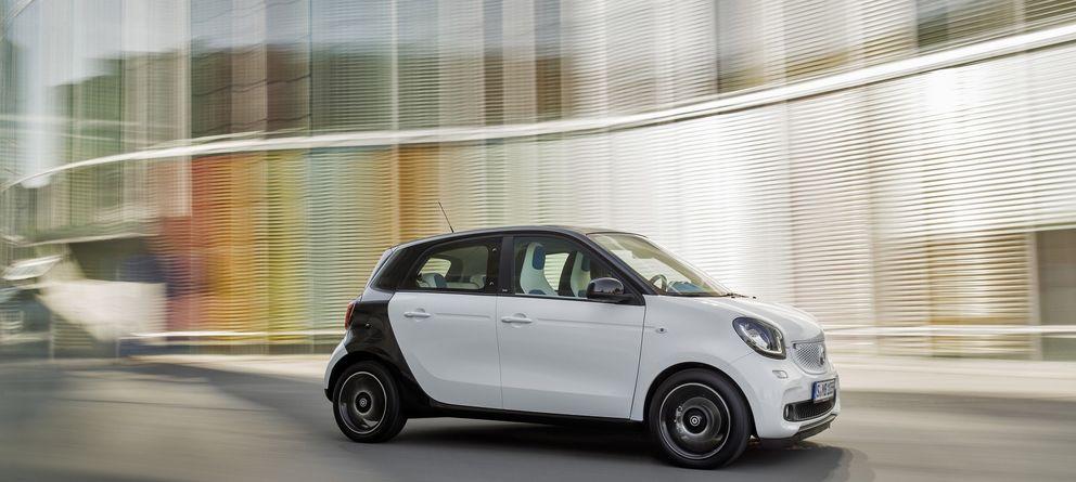 Foto: Nuevo smart, un urbano ideal