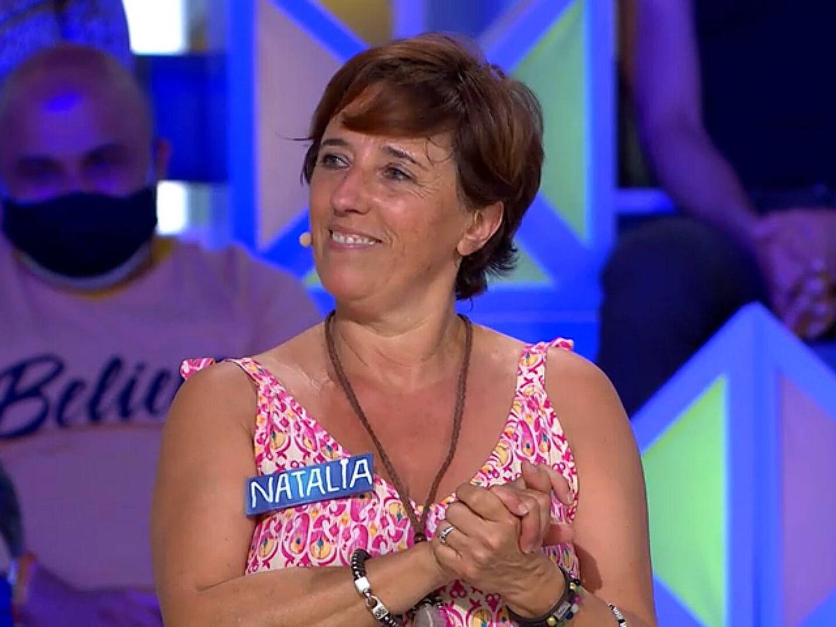 Foto: Natalia, en 'La ruleta de la suerte'. (Antena 3)