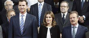 Foto: Los príncipes se reencuentran con Pedro Erquicia, el hombre que les presentó