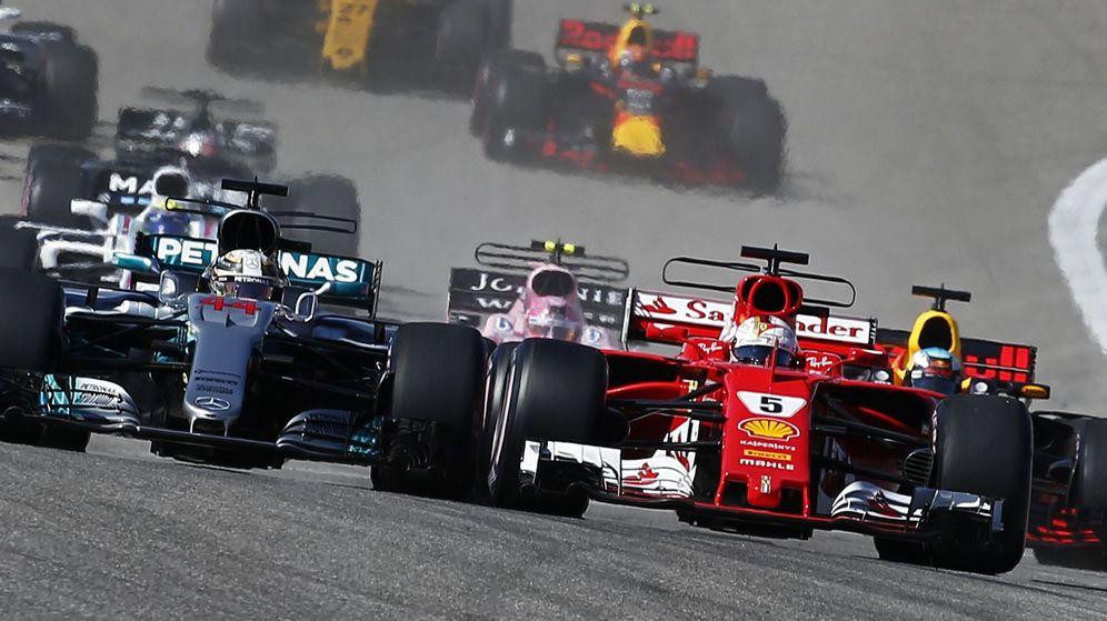Foto: Carrera de Formula 1. (Reuters)