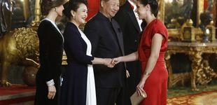 Post de De rojo y 'made in Spain': el vestido de la otra española que rivalizó con Begoña Gómez