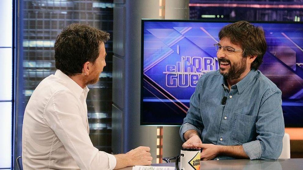 'El hormiguero' brilla en Antena 3 con la visita de Jordi Évole ('Salvados')
