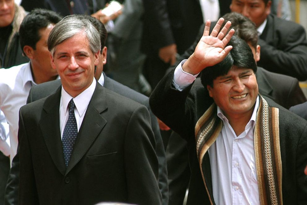 Foto: Evo Morales es investido presidente de Bolivia