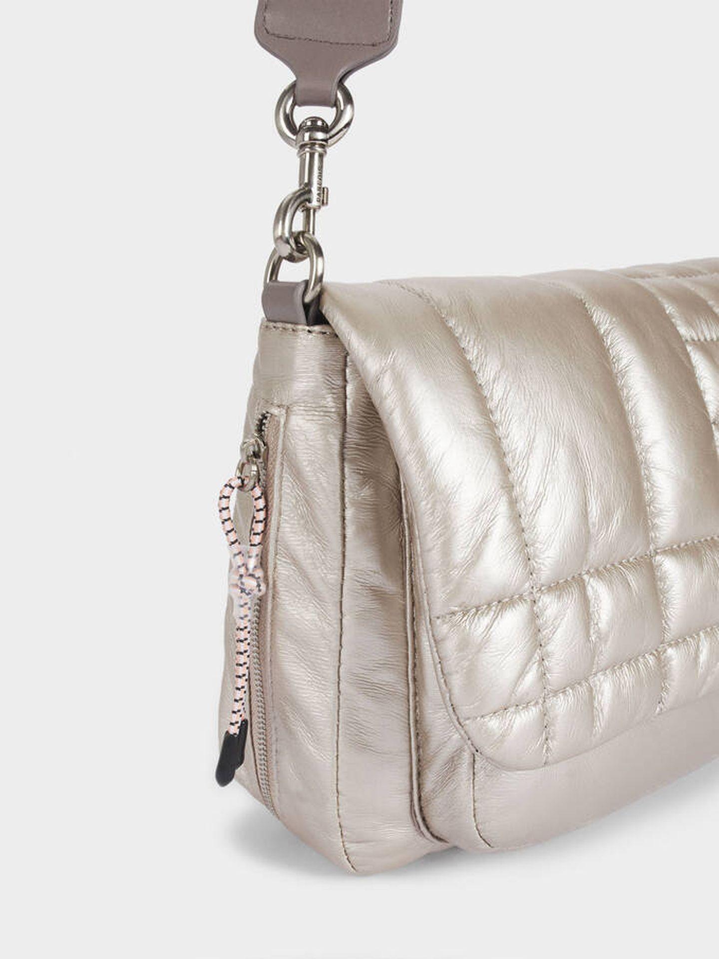 El bolso acolchado de Parfois. (Cortesía)