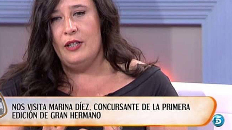 Marina Díez, en la actualidad. (Telecinco)