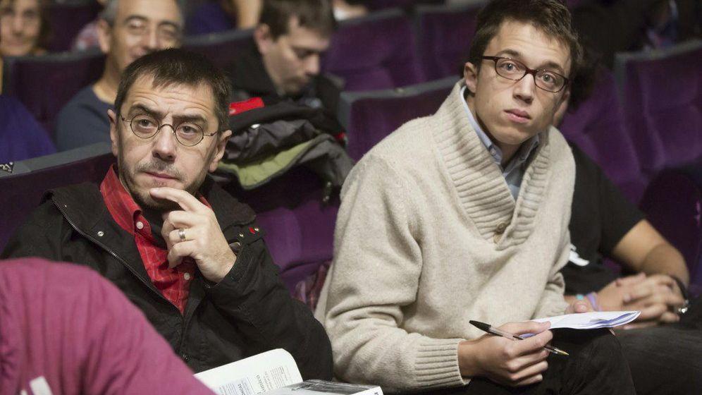 Foto: Juan Carlos Monedero e Íñigo Errejón. (EFE)