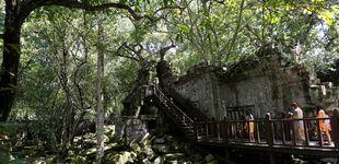 Post de Encuentran la 'ciudad perdida' de Camboya oculta en medio de la selva