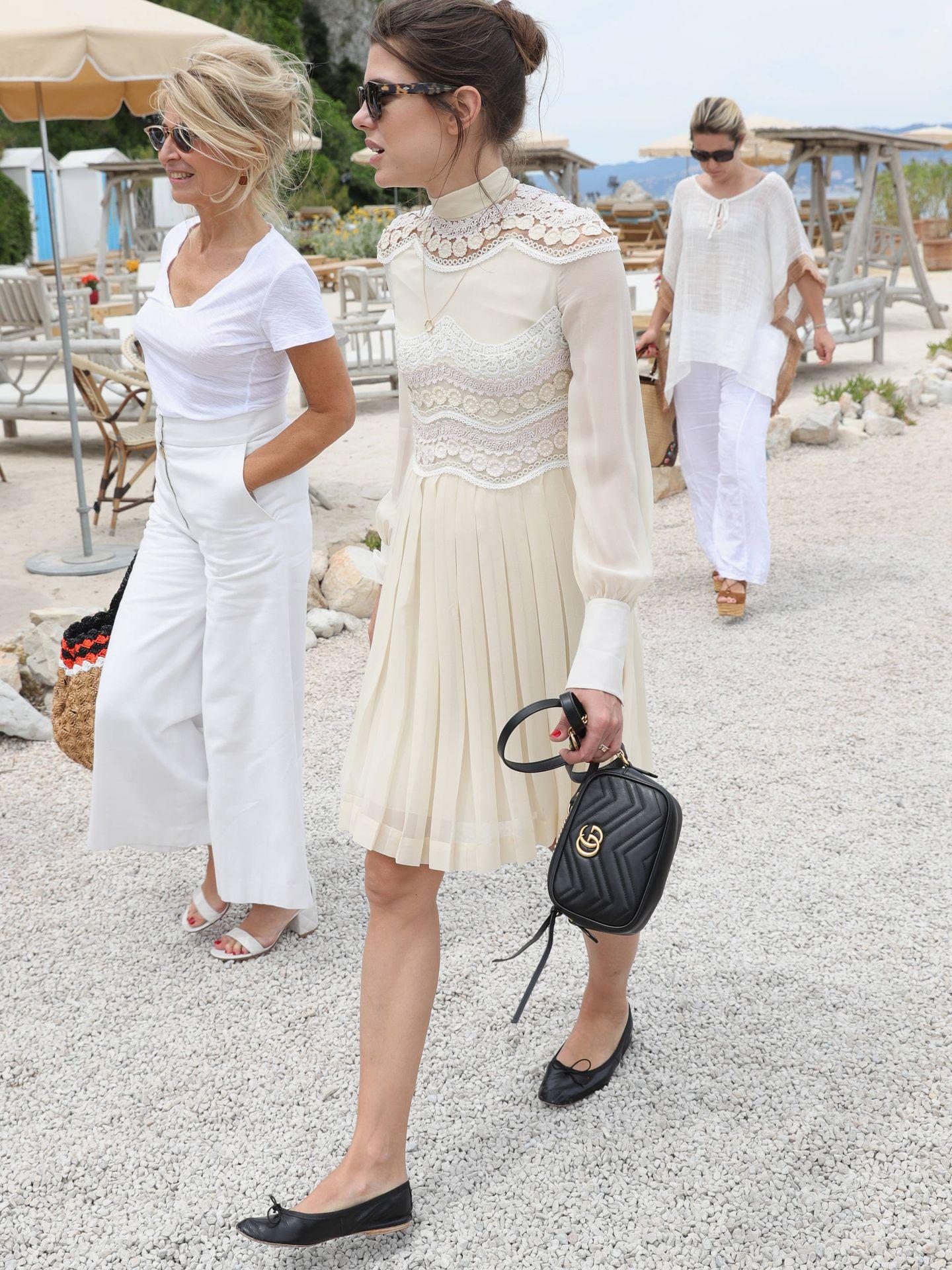 Carlota Casiraghi en Cannes. (Getty)