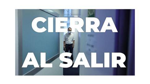 Reacciones divididas a la dimisión de Pablo Iglesias: del 'cierra al salir' a sus logros