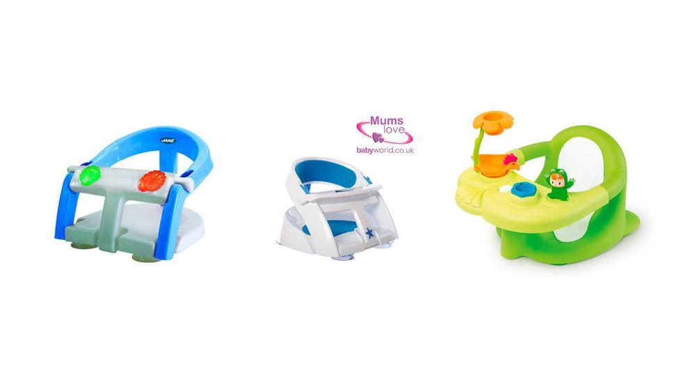 Asientos de bañera para bebés: la mejor manera de que estén cómodos en el agua