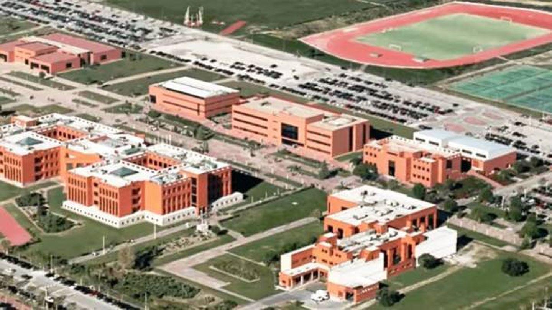 Vista aérea de la Universidad Alfonso X El Sabio. (YouTube)