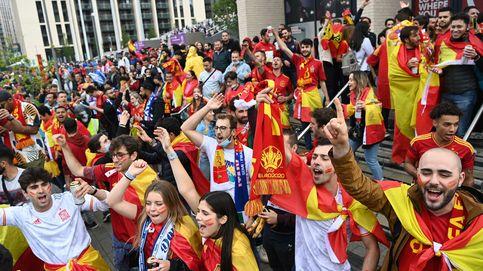 Así viví el partido: la noche en que Wembley fue 'little Spain'