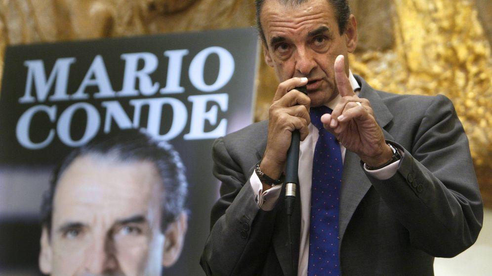 Foto: Fotografía de archivo de Mario Conde en la presentación de su libro 'Memorias de un preso'. (EFE)