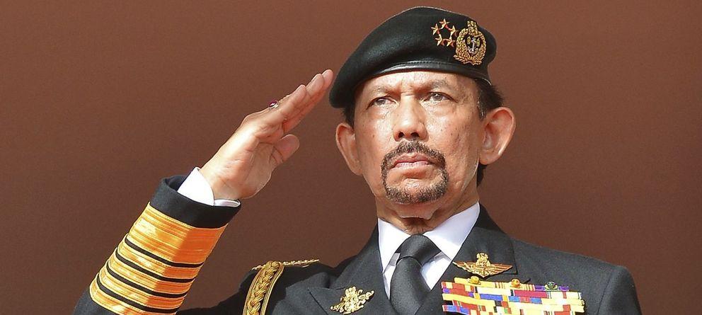 Foto: El sultán Muda Hassanal Bolkiah, en un acto oficial (Reuters).
