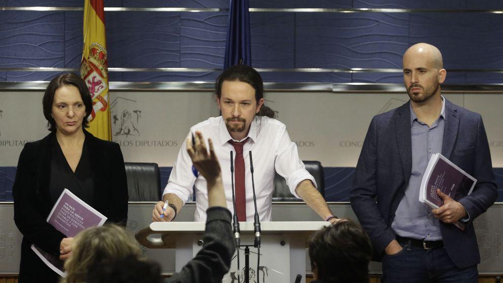 Podemos: órdago a Sánchez para convertir al PSOE en el Pasok español