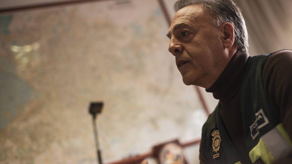 Foto: Francisco Mangas, inspector del Grupo XII Atracos y Secuestros. (Jorge Álvaro Manzano)