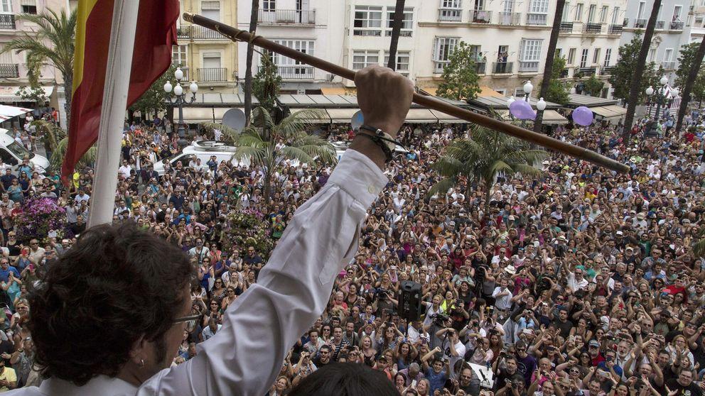 El primer fracaso de Pablo Iglesias, 'Kichi'