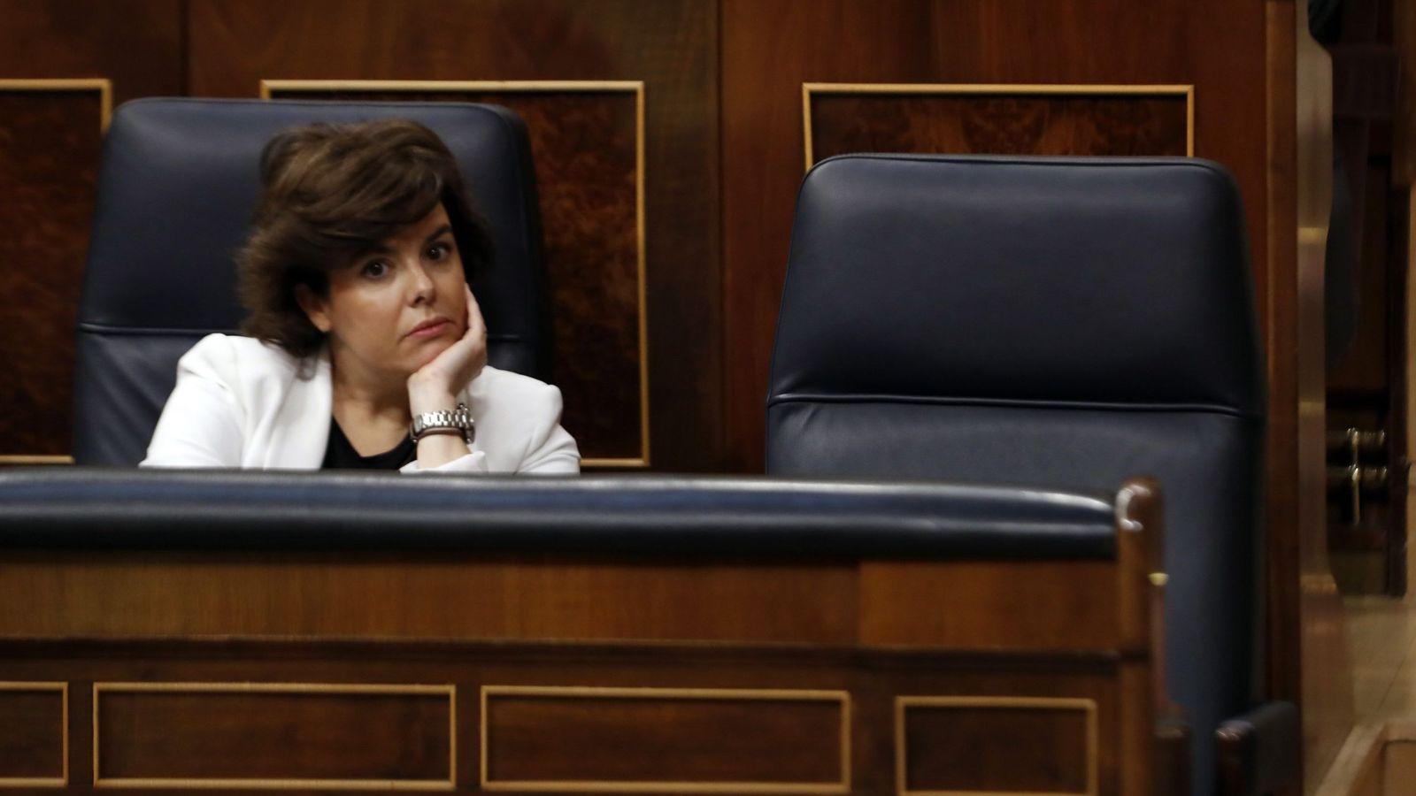 Foto: Soraya Sáenz de Santamaría. (EFE)