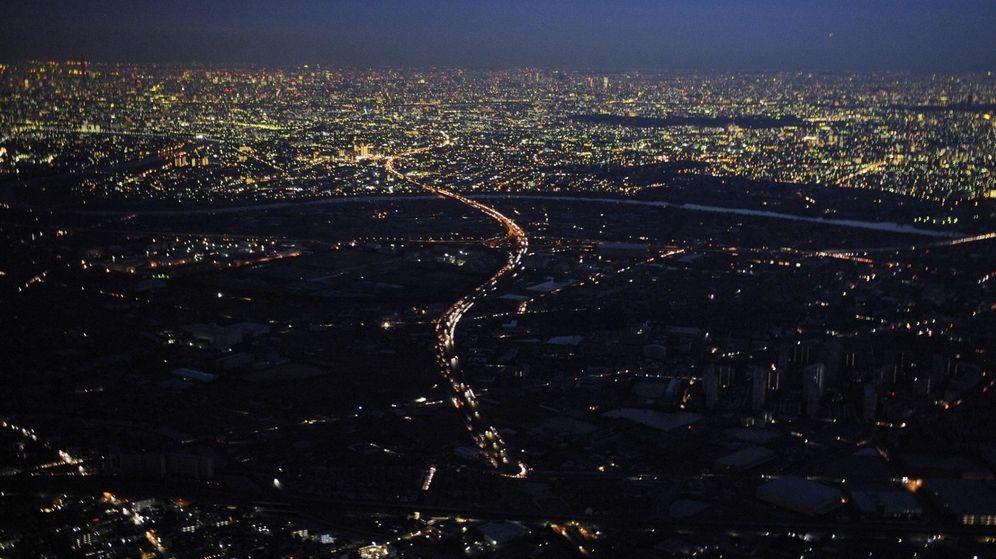 Foto: Apagón en Japón