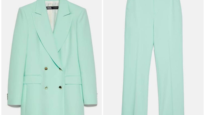Nuevo traje de Zara. (Cortesía)