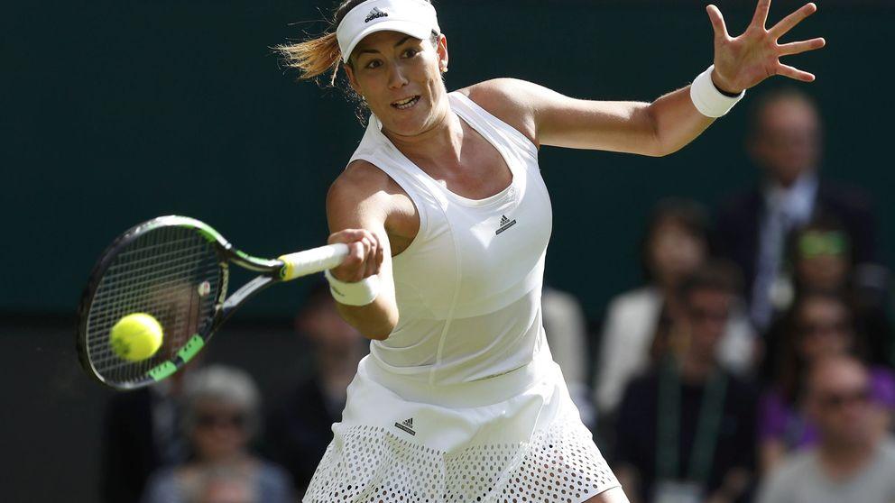 Garbiñe hace una faena de aliño para ganar la primera ronda en Wimbledon