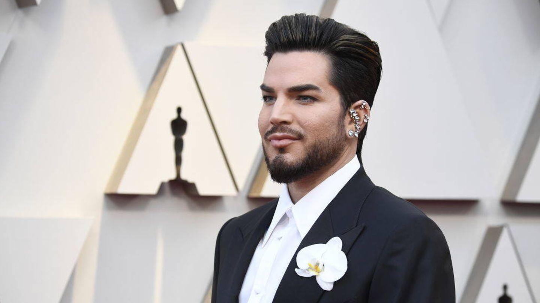 Adam Lambert, muy cinematográfico. (Getty)
