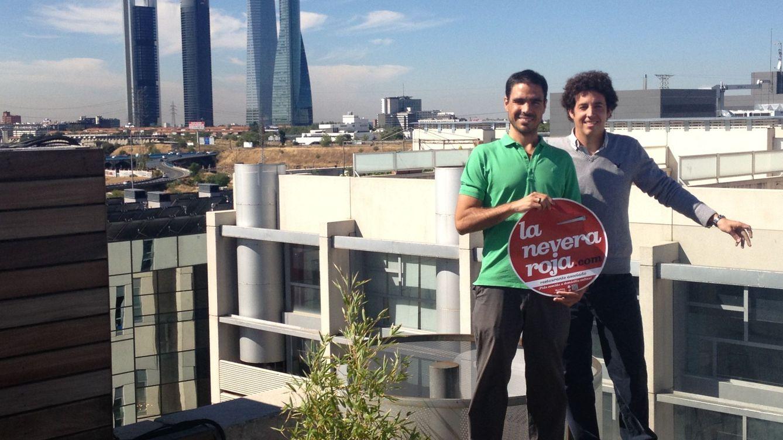 Foto: Los fundadores de La Nevera Roja, José del Barrio e Íñigo Juantegui.