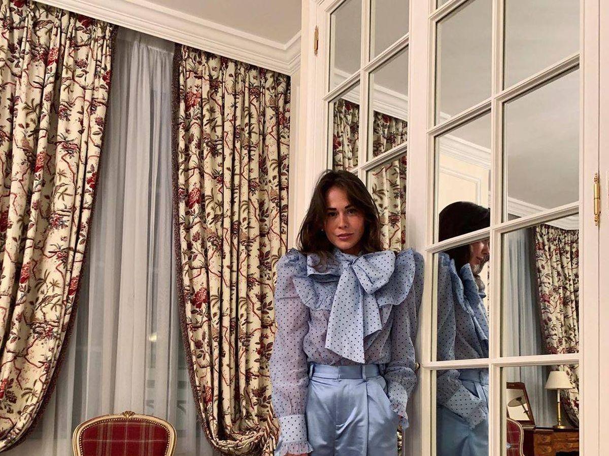 Foto: Esta insider luce una blusa con maxilazo. (Instagram)