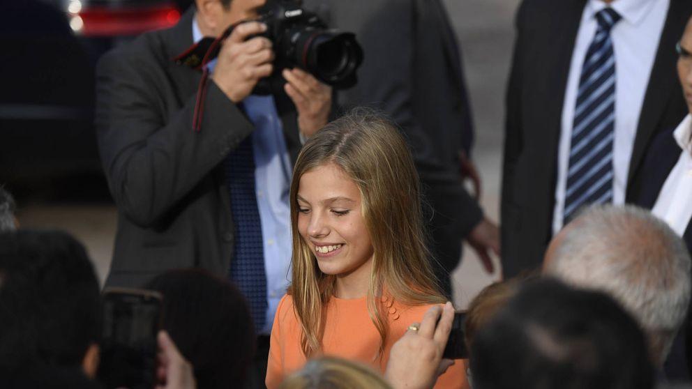 La infanta Sofía a los 13 años: su antojo, su número de DNI y sus misteriosas gafas