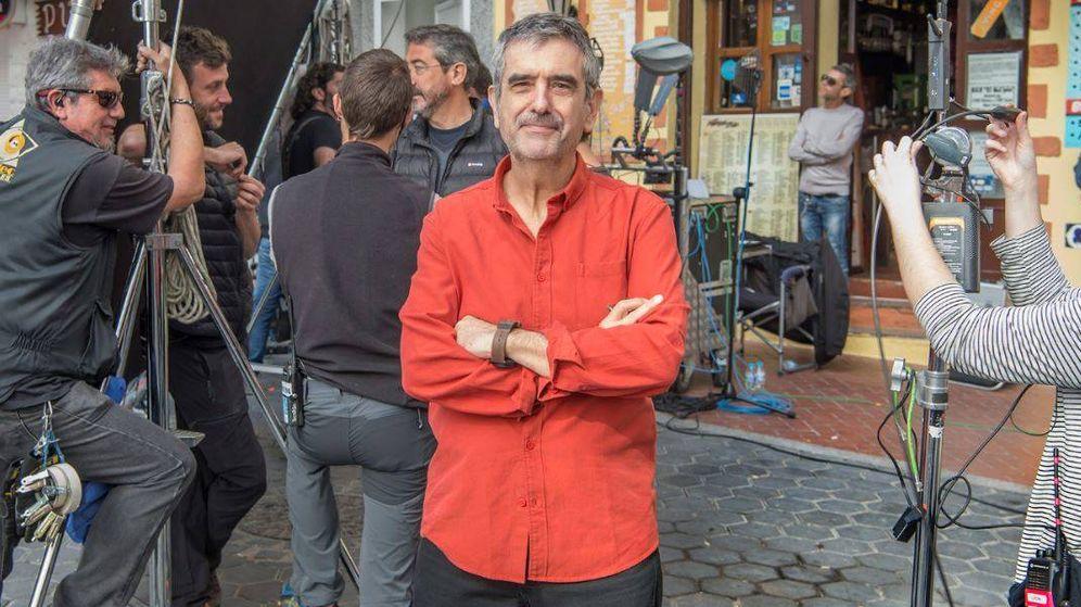 Foto: Joaquín Oristrell, creador de 'Fugitiva' y guionista de 'Cuéntame'.